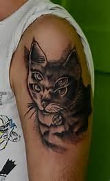 Gato tatuagens desenhos, ideias e significados | Tatuagens para você